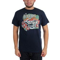 The Beach Boys - Mens Surfin Usa Tropical T-Shirt