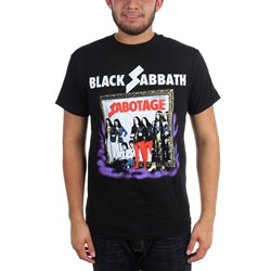 Black Sabbath - Mens Sabotage Vintage T-Shirt