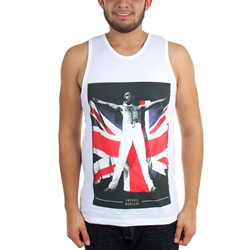 Freddie Mercury - Mens Freddy Flag Tank Top