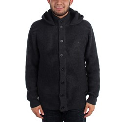 Nixon - Mens Montana Button Front Hoodie