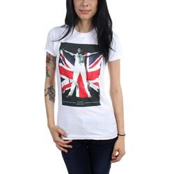 Freddie Mercury - Womens Freddie Flag T-Shirt