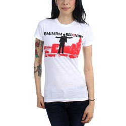 Eminem - Womens Top of the World T-shirt in White