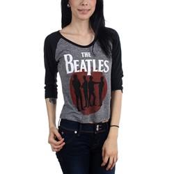 The Beatles - Womens Silhouette Raglan