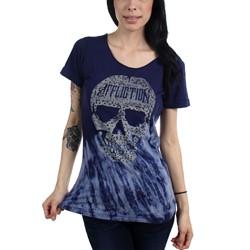 Affliction - Womens Olivia Skull T-Shirt
