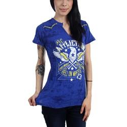Affliction - Womens AC Golden Eagle T-Shirt