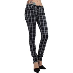 Tripp NYC - Womens Plaid T-Jeans
