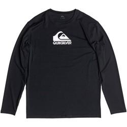 Quiksilver - Mens Solid Streak Long Sleeve Surf T-Shirt