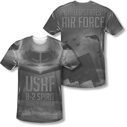 Air Force - Mens Stealth (Front/Back Print) T-Shirt