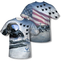 Air Force - Youth Pilot (Front/Back Print) T-Shirt