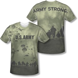 Army - Mens Air To Land (Front/Back Print) T-Shirt