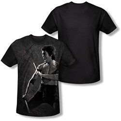 Bruce Lee - Youth Dragon Print T-Shirt