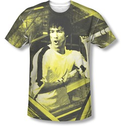 Bruce Lee - Mens Stripes T-Shirt