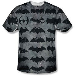 Batman - Mens 75 Symbols T-Shirt