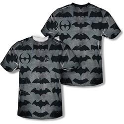 Batman - Mens 75 Symbols (Front/Back Print) T-Shirt