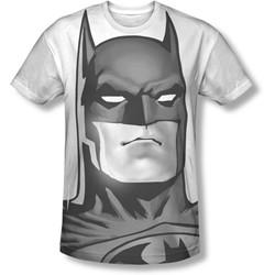 Batman - Mens Bw Bat Head T-Shirt