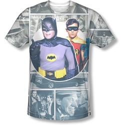 Batman - Mens 60S Panels T-Shirt