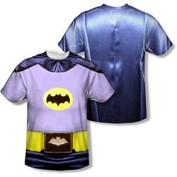 Batman - Mens Batman Costume (Front/Back Print) T-Shirt