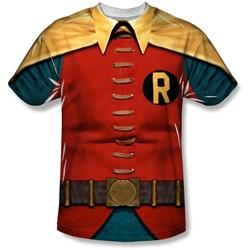 Batman - Mens Robin Costume T-Shirt