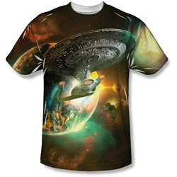 Star Trek - Mens Battle Ships T-Shirt