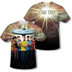 Star Trek - Mens Original Crew (Front/Back Print) T-Shirt