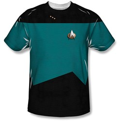 Star Trek - Youth Tng Science Uniform T-Shirt
