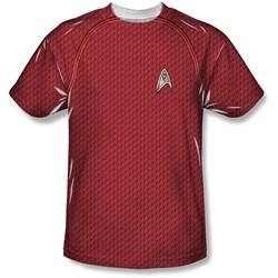 Star Trek - Mens Movie Engineering Uniform T-Shirt