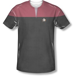 Star Trek - Mens Voyager Command Uniform T-Shirt