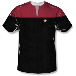 Star Trek - Mens Voyager Command Uniform T-Shirt