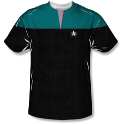 Star Trek - Youth Voyager Science Uniform T-Shirt