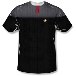 Star Trek - Mens Tng Movie Command Uniform T-Shirt