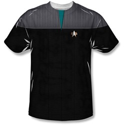 Star Trek - Youth Tng Movie Science Uniform T-Shirt