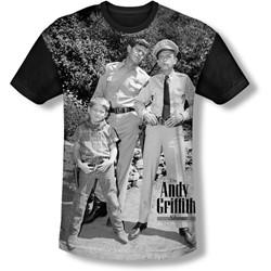 Andy Griffith - Mens Lawmen T-Shirt