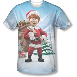 Santa Claus Is Comin To Town - Mens Helpers T-Shirt