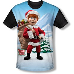 Santa Claus Is Comin To Town - Youth Helpers T-Shirt