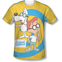 Mr Peabody & Sherman - Mens Explanation T-Shirt