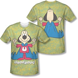 Underdog - Mens Flexing (Front/Back Print) T-Shirt