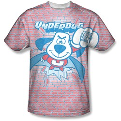 Underdog - Mens Burst T-Shirt