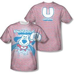 Underdog - Mens Burst (Front/Back Print) T-Shirt
