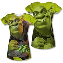 Shrek - Juniors Trio (Front/Back Print) T-Shirt