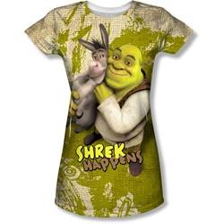 Shrek - Juniors Best Friends T-Shirt