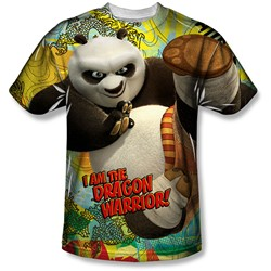Kung Fu Panda - Mens Dragon Warrior T-Shirt