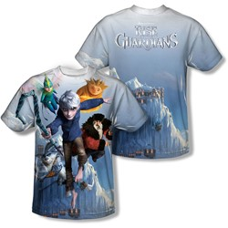 Rise Of The Guardians - Mens Together Now (Front/Back Print) T-Shirt
