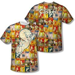Casper - Mens Covered (Front/Back Print) T-Shirt