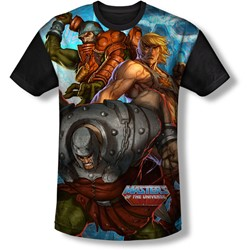 Masters Of The Universe - Mens Heroes And Villains T-Shirt