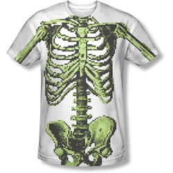 8 Bit Skeleton - Mens 8 Bit Skeleton T-Shirt