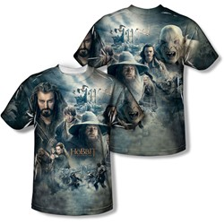 Hobbit - Youth Epic Poster (Front/Back) T-Shirt