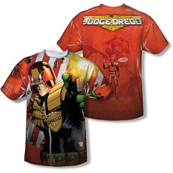 Judge Dredd - Youth Democracy (Front/Back Print) T-Shirt