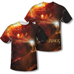 Lord Of The Rings - Mens No Passing (Front/Back Print) T-Shirt