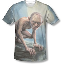 Lord Of The Rings - Mens Gollum Moon T-Shirt