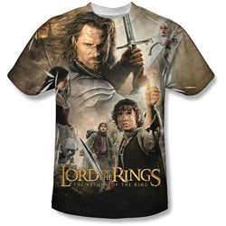 Lord Of The Rings - Mens King Poster T-Shirt